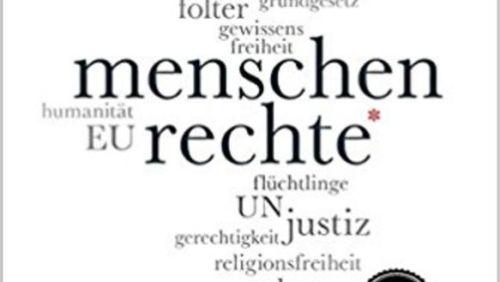 """Buchcover Martin Klingst """"Menschenrechte"""""""